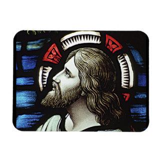 RELIGIOUS STAIN GLASS MAGNET DESIGN