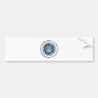 Religious Symbol of Jainism-Ahimsa Bumper Sticker