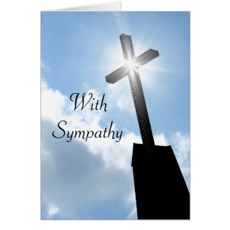 Religious Sympathy Greeting Card