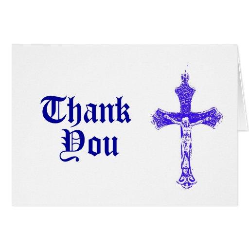 Religious Thank you Card