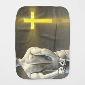 Religious Transformation to Christianity Burp Cloths