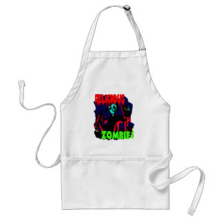 Religious Zombies Adult Apron
