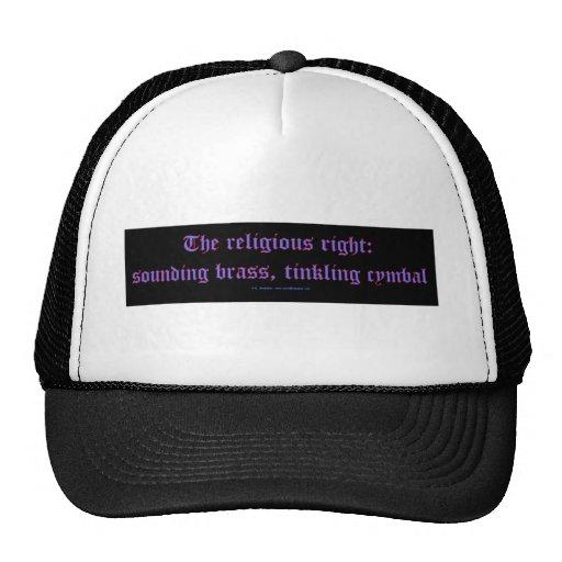 ReligRightBrassCymbal Trucker Hat