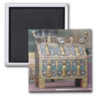 Reliquary Chasse, Limoges, c.1200-50 Square Magnet
