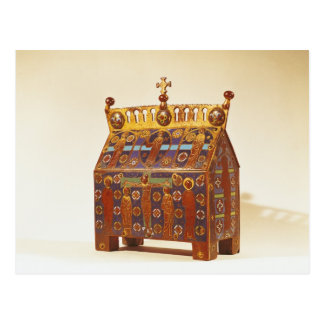 Reliquary chest, 12th-13th century postcard