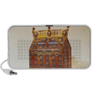 Reliquary chest, 12th-13th century travel speaker