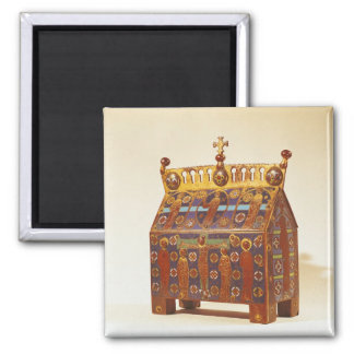 Reliquary chest, 12th-13th century square magnet