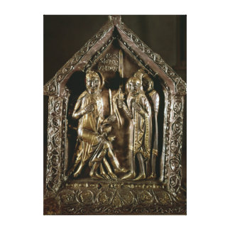 Reliquary chest of the sons of St. Sigismund Stretched Canvas Print