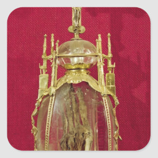 Reliquary containing the hand of St. Attalia Square Sticker
