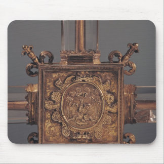 Reliquary cross, detail of a phoenix mouse mat