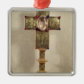 Reliquary cross of Pope Urban V  1368-78 Christmas Ornament