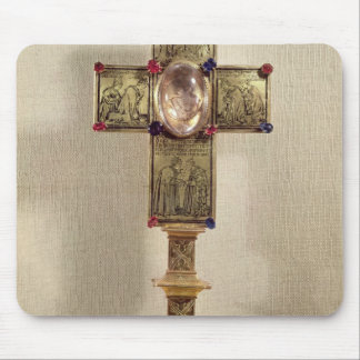 Reliquary cross of Pope Urban V  1368-78 Mouse Pad