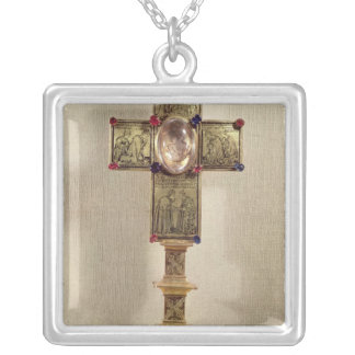 Reliquary cross of Pope Urban V  1368-78 Silver Plated Necklace