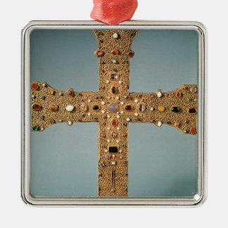 Reliquary cross of the Abbey of Valesse Christmas Ornament