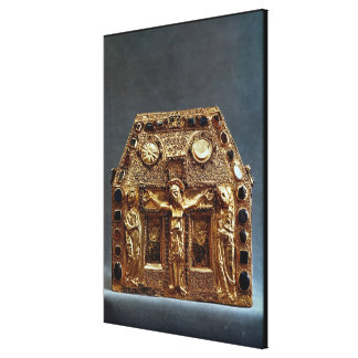 Reliquary of Pepin I  King of Aquitaine Canvas Print