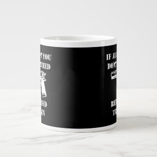 Reload Gun Large Coffee Mug