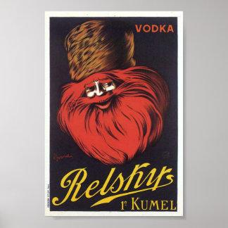 Relsky Vodka poster