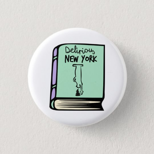 Rem Koolhaas Delirious New York Book Button