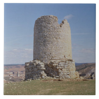 Remains of a Tower from the city of 'Uxama Argelae Tile