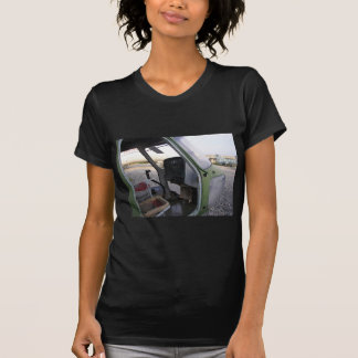 Remains of cold war helicopter. t-shirts