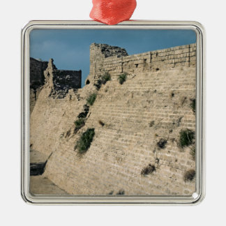 Remains of the fortress walls, built c.37-31 BC Christmas Ornament