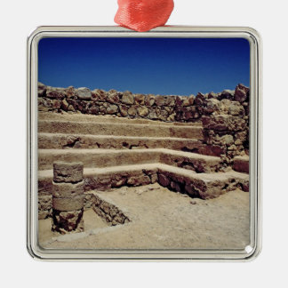 Remains of the fortress walls, c.37-31 BC Christmas Ornament