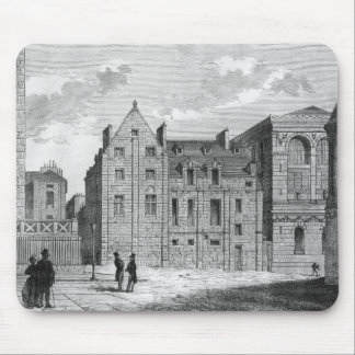 Remains of the Montaigu College, c.1850 Mouse Mat