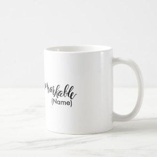 Remarkable Custom Basic White Mug