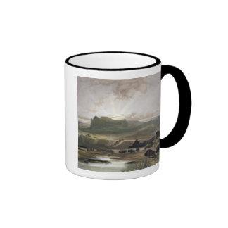 Remarkable Hills on the Upper Missouri, plate 34 f Coffee Mug