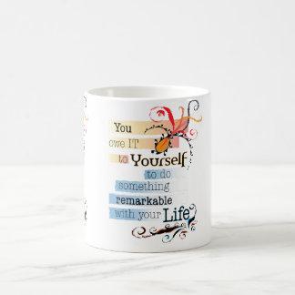 Remarkable Life Basic White Mug