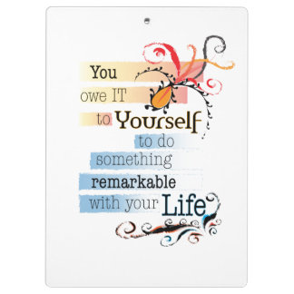 Remarkable Life Clipboards