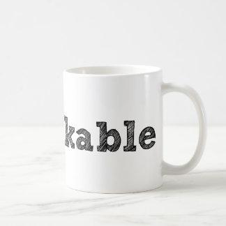'remarkable' Mug