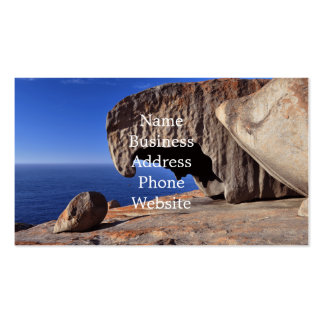 Remarkable Rocks, Kangaroo Island,South Australia Double-Sided Standard Business Cards (Pack Of 100)