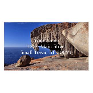 Remarkable Rocks, Kangaroo Island,South Australia Pack Of Standard Business Cards