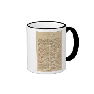 Remarks to Carey's General Atlas Coffee Mugs