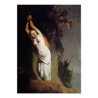 Rembrandt - Andromeda on the rocks Posters