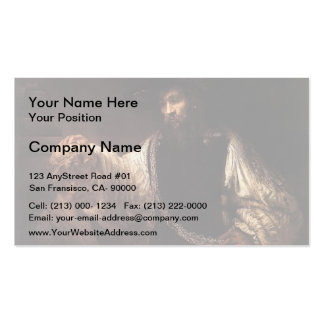 Rembrandt- Aristotle with a Bust of Homer Pack Of Standard Business Cards