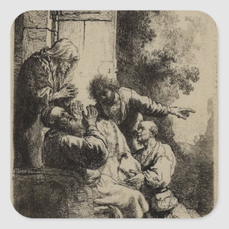 Rembrandt Art Painting and etching Stickers