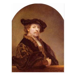 Rembrandt Harmensz van Rijn Selbstportr t 1640 Te Post Card