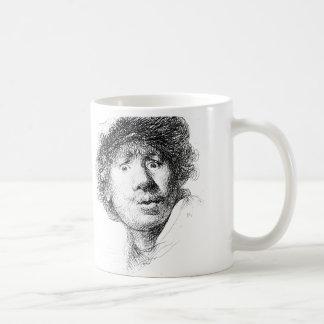 Rembrandt In the Morning Basic White Mug