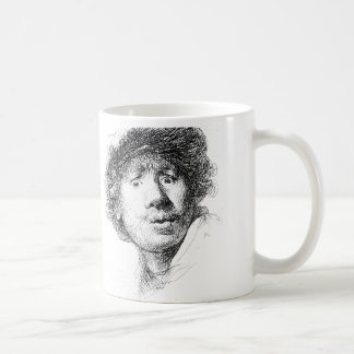 Rembrandt In the Morning Classic White Coffee Mug