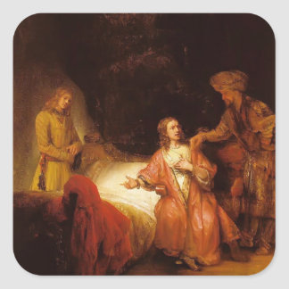 Rembrandt: Joseph Accused by Potiphar's Wife Sticker