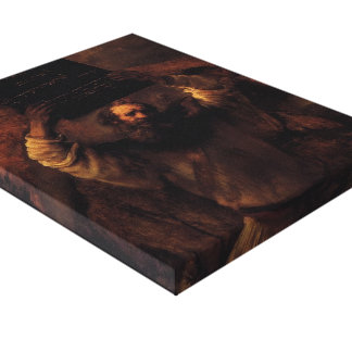 Rembrandt- Moses Smashing the Tablets of the Law Canvas Prints