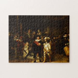 Rembrandt Nightwatch Night Watch Baroque Painting Jigsaw Puzzle