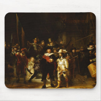 Rembrandt Nightwatch Night Watch Baroque Painting Mouse Pad