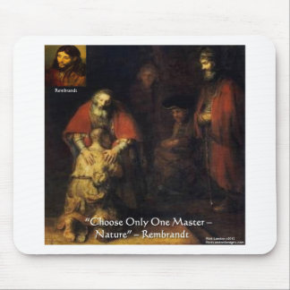 Rembrandt Prodigal Son Elegant Gifts & Cards Mouse Mat