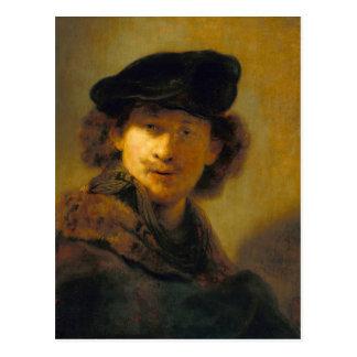 Rembrandt Self Portrait 2 Postcard
