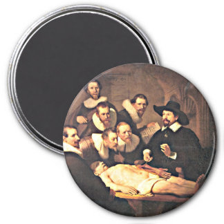 Rembrandt: The Anatomy Lesson of Dr. Nicolaes Tulp Magnet