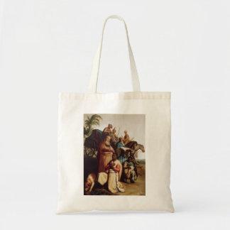 Rembrandt- The Baptism Of The Eunuch Canvas Bag