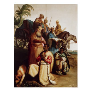 Rembrandt- The Baptism Of The Eunuch Postcard